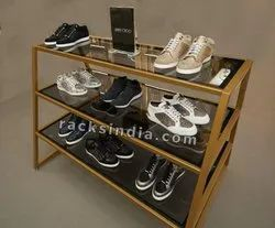 Golden Counter  for Footwear Stores.