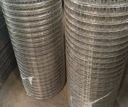 Iron Grey Galvanized Welded Wire Mesh, Packaging Type: Roll, Size: 1