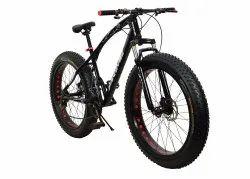 Prime Black Jaguar Fat Tyre Cycle