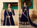 Heavy Georgette Embroidery Work Gown