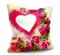 printed satin pillows