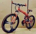 Orange Mercedes Benz 3s Foldable Cycle