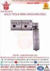 Gold Tool Ring Grooving Die