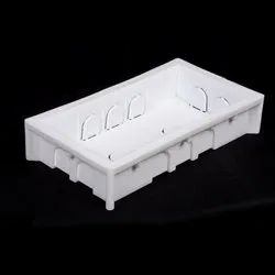 Jsk Rectangular 8 Modules PVC Moduler Concealed Box, For Switches