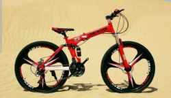 Red Land Lover Foldabal Cycle