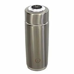 Silver Stainless Steel Alkaline Nano Flask, For Home and Office, Capacity: 600 Ml
