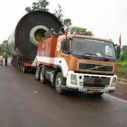 Trailer Transport for Over Dimensional Cargo