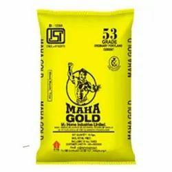 Maha Cement OPC 53 Grade, Packaging Size: 50 kg