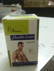 Unisage Health Gain Capsules, Packaging Type: Box, Packaging Size: 10* 10