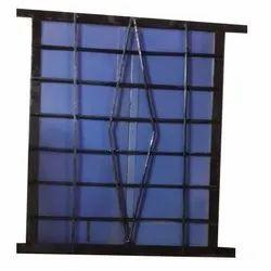 Modern Iron Window Grill