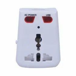 White 1080 Pixels Spy BD-300 Socket Spy Cameras