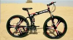 Red Balck Land Lover  Foldable Cycle