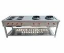 Chinese Burner With Continental Cooking Range