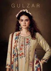 Sargam Gulzar Designer Pashmina Dress Material Catalog