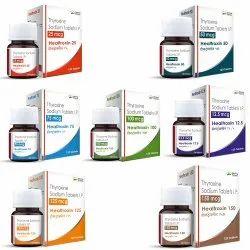Thyroxine 12.5 mcg / 25 mcg / 50 mcg / 75 mcg / 100 mcg / 125 mcg / 150 mcg