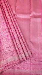 Pink Bridal Saree