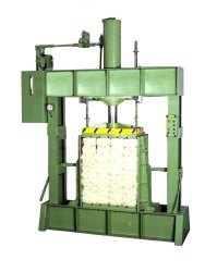 Hank Yarn Bundle Baling Machine