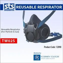 RESPIRATOR DUAL CARTRIDGE FACE MASK