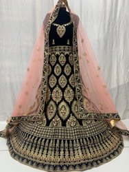 More Colour Availeble Hand Work Bridal Heavy Embroidery Lehenga Choli