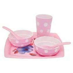 Plastic Dinner Set