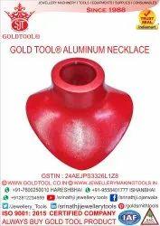 Gold Tool Aluminium Necklace Mandrill