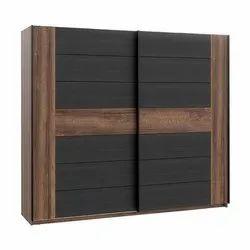 Designer Wooden Sliding Wardrobe