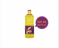 Mono Saturated Krishiv 500 ml Soybean Oil, Packaging Type: Plastic Bottle