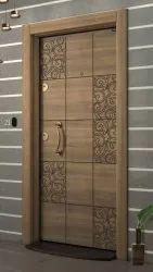 Brown Termite Proof Flush Door, For Home