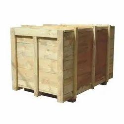 Rectangle Industrial Hardwood Box