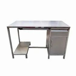 Stainless Steel SS Computer Table
