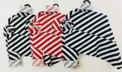 Party Wear Striped Mens Cotton Readymade Shirts