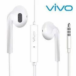 Mobile White vivo earphones