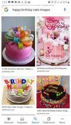 Round BIRTHDAY Cake