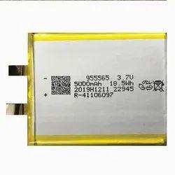 3.7V 5000mAH Lithium Polymer Size 955545