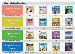 Ukg Macmillan Snappy Sounds Books Set(国际课程),英语