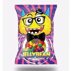 Popprz Mixed Mr. Jelly Juicy Fruity Bean, Packaging Type: Packet, Packaging Size: 18g