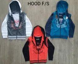 Hosiery Hooded Kids Fashion Hoodies