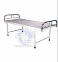 Stainless Steel White Hospital Bed And Mattress, Size: Custom, Size/dimension: 72x36x20