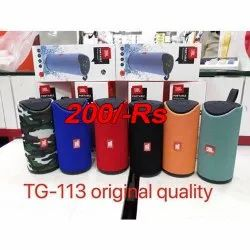 Multicolor Tg-113 Speaker With Best Sound Quality