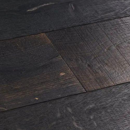 Laminate Matte Dark Wooden Flooring, Matte Black Laminate Flooring