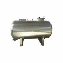 Horizontal Stainless Steel Water Tanks