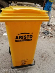 Wheeled Pedal Dustbins for Hospitals