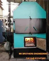 Oil & Gas Fired Mild Steel Fire Tube Steam Boiler, Working Pressure: 20 Kg, Capacity: 3000 Kg Per Hour