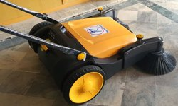 Manually Plastic Walk behind Sweeper, For Office