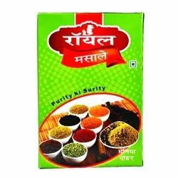 Royal 100g Organic Coriander Powder, For Cooking, Packaging Type: Packet