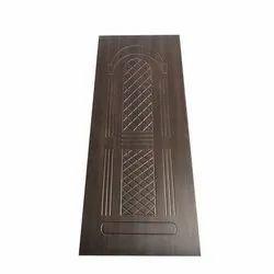 Brown 7 Feet Bedroom Laminated Door, For Home