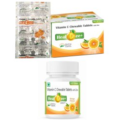 Healcee Plus Vitamin C Chewable Tablet With Zinc