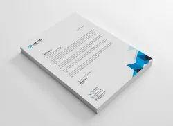 Paper Letterhead Design Printing Service, In Local Area