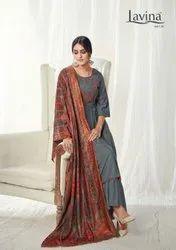 Lavina Vol 114 Pashmina Winter Dress Material