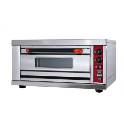Commercial Gas Pizza Oven 1 Deck 1 Tray
